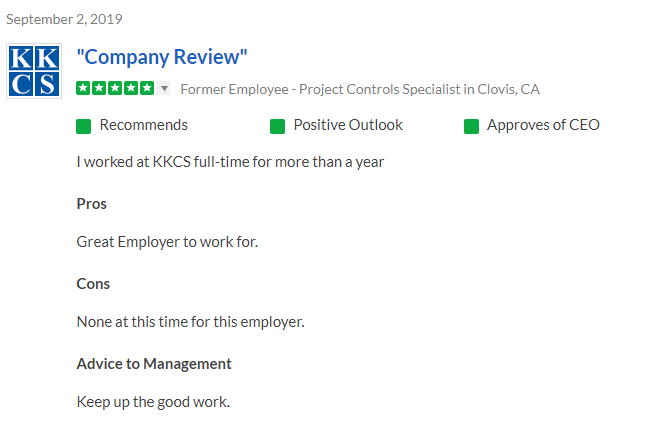 Great Employer to work for.