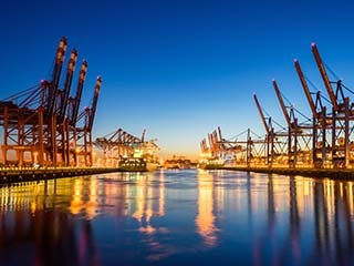 Port Work Begins