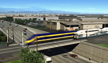 Burbank to Anaheim Corridor