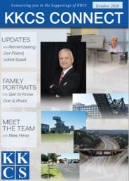 KKCS Connect - October 2020 Newsletter